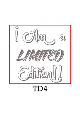I Am a limited Edition!! Glitter