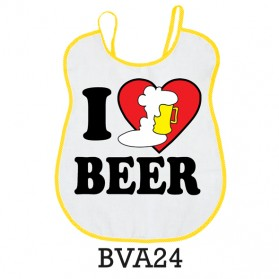 """Bavaglione """"I cuore beer"""""""